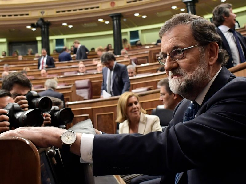 Madridas davė Katalonijai laiko iki kitos savaitės