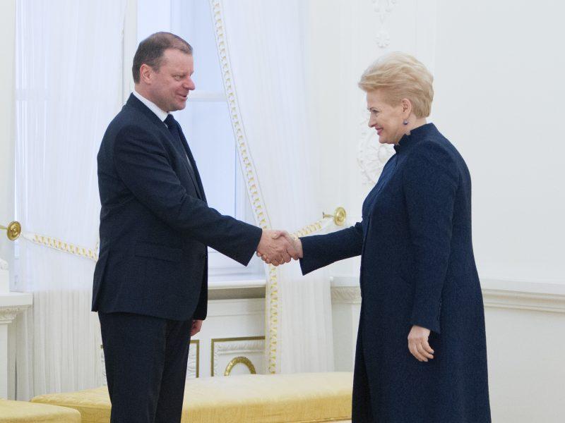 Prezidento rinkimai: ar D. Grybauskaitės pamaina bus S. Skvernelis?