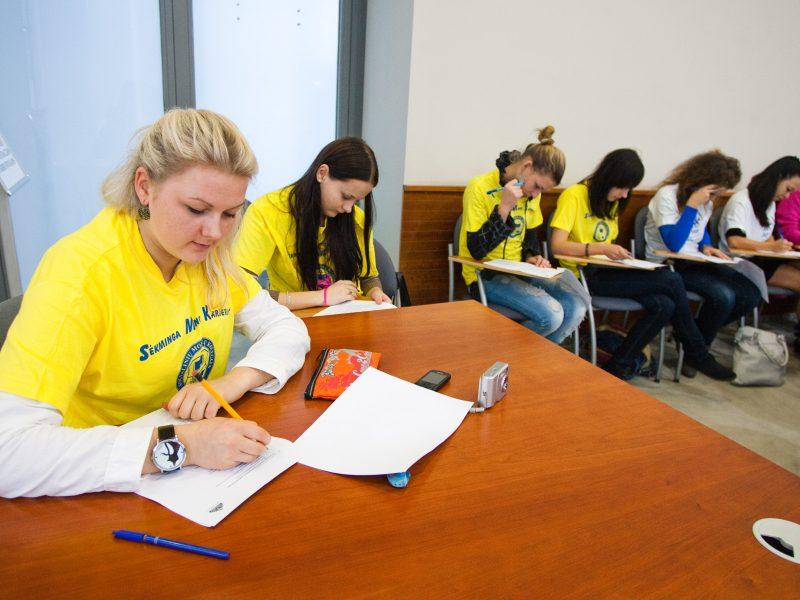 Vilniuje vyks Vidurio Europos matematikos olimpiada
