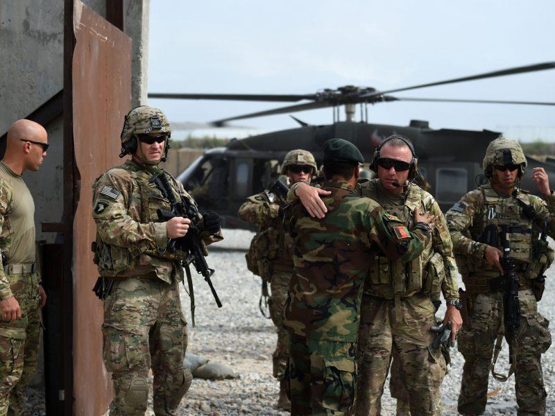 Afganistane per kovinę operaciją žuvo JAV karys