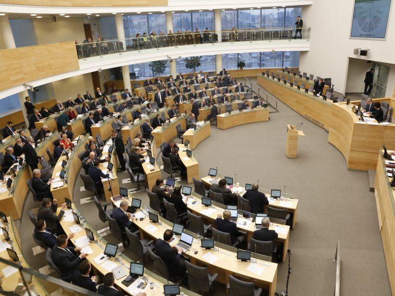 Seimo rudens darbai: beveik 400 teisės aktų