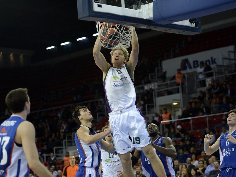 Ispanijoje M. Kuzminskas pelnė keturiolika taškų