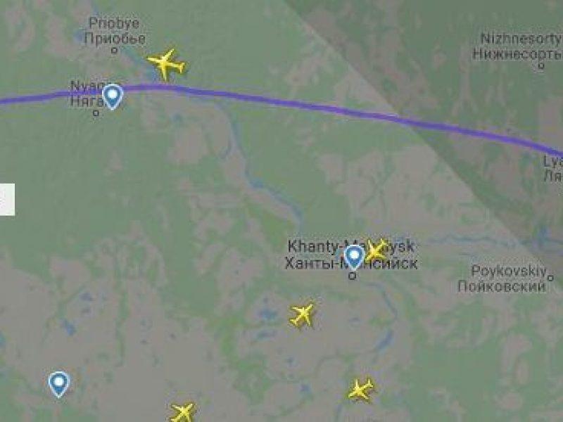 Rusijoje buvo užgrobtas lėktuvas: reikalavo skristi į Afganistaną