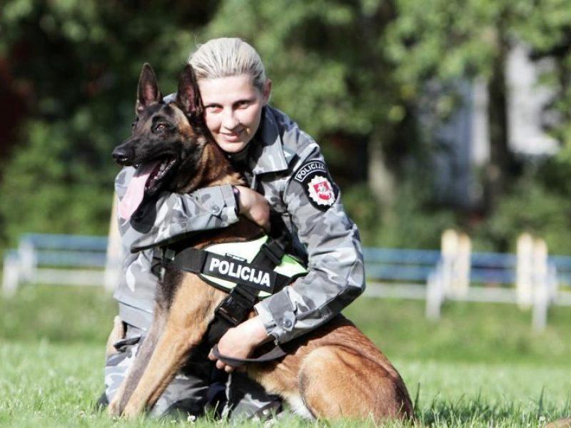 Papasakojo apie tarnybinius šunis: jie – kaip žibintuvėlis tamsoje