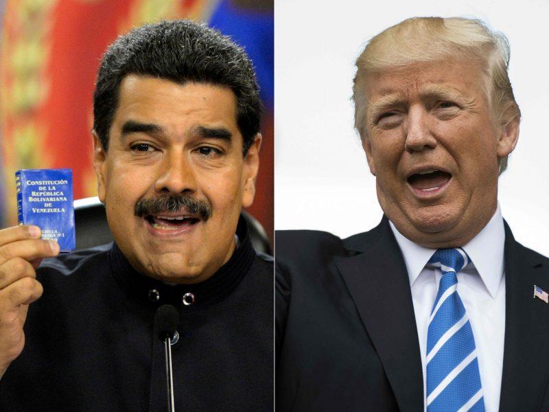 JAV paskelbė sankcijų Venesuelos naftos sektoriui