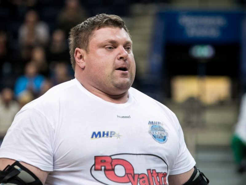 Ate, medali: Ž. Savickas pasaulio galiūnų čempionato finalo nebaigė