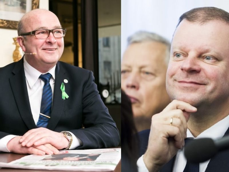 V. Matijošaitis ir S. Skvernelis: kurio galimybės prezidento rinkimuose didesnės?