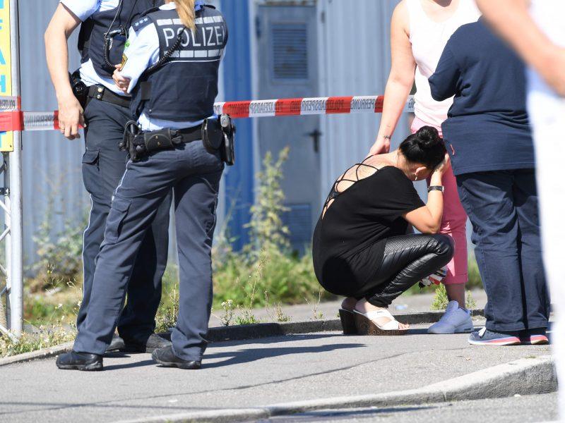 Vokietijoje per smarkią audrą žuvo trys žmonės