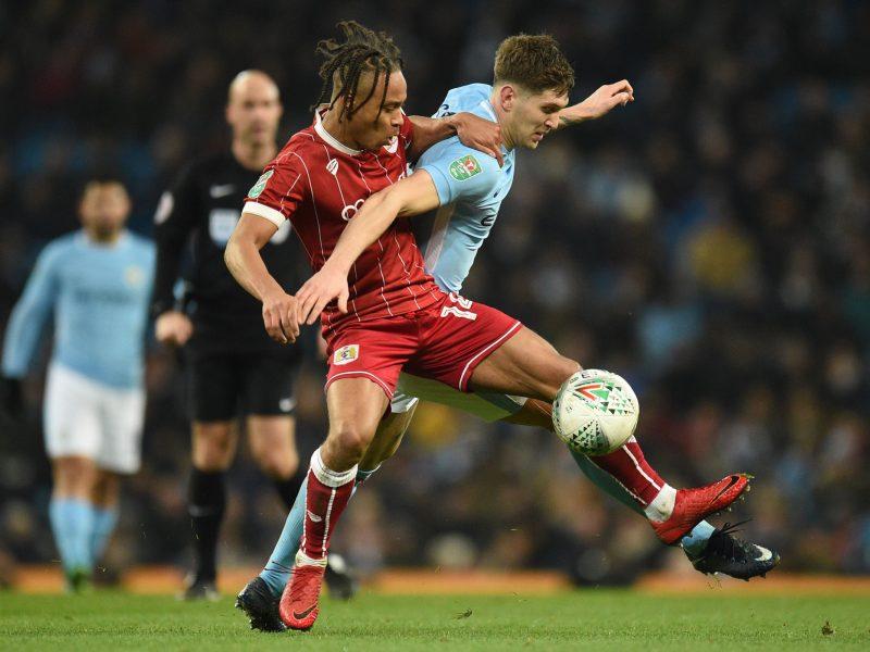 """Anglijos lygos taurė: """"Bristol City"""" vos nepristabdė ir kito Mančesterio milžino"""