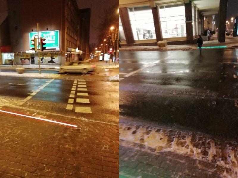 Miesto centre stiprina eismo saugumą