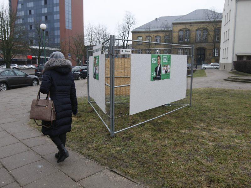 Rinkimai Klaipėdoje įgauna pagreitį