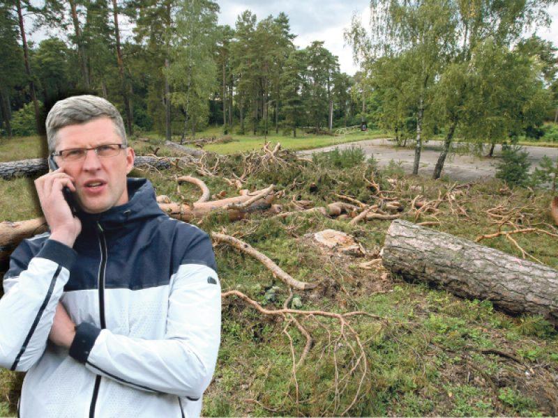 """""""TOP Sport"""" savininko G. Staniulio projektą Kleboniškyje vietiniai pavadino Getu"""
