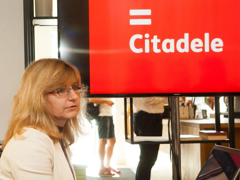 """""""Citadele"""" bankas Lietuvoje veiklą tęsia kaip filialas"""