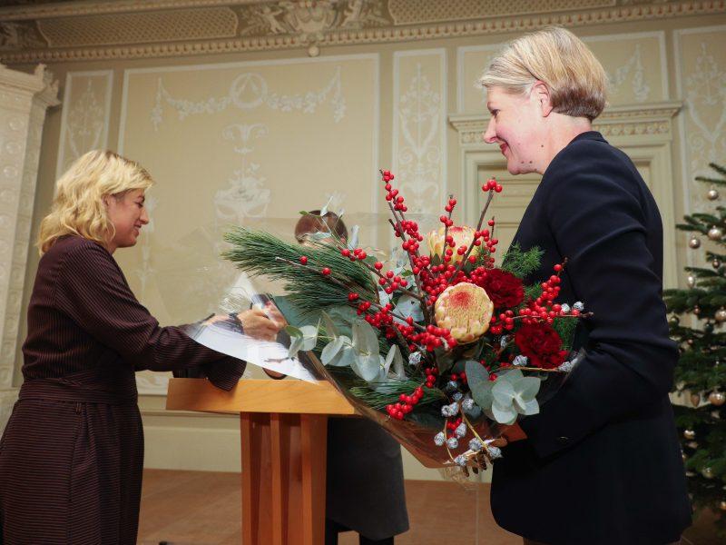 Kultūros ministerijoje įteiktos premijos
