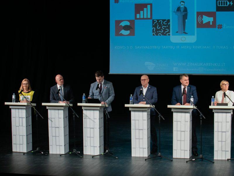Kandidatų į Kauno merus debatai