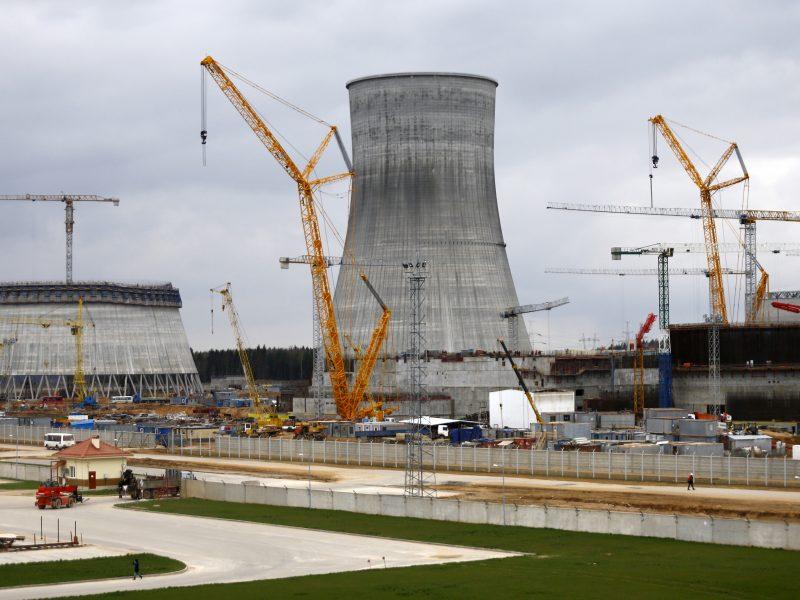 Baltarusijos vicepremjeras: Astravo AE gali turėti keturis reaktorius