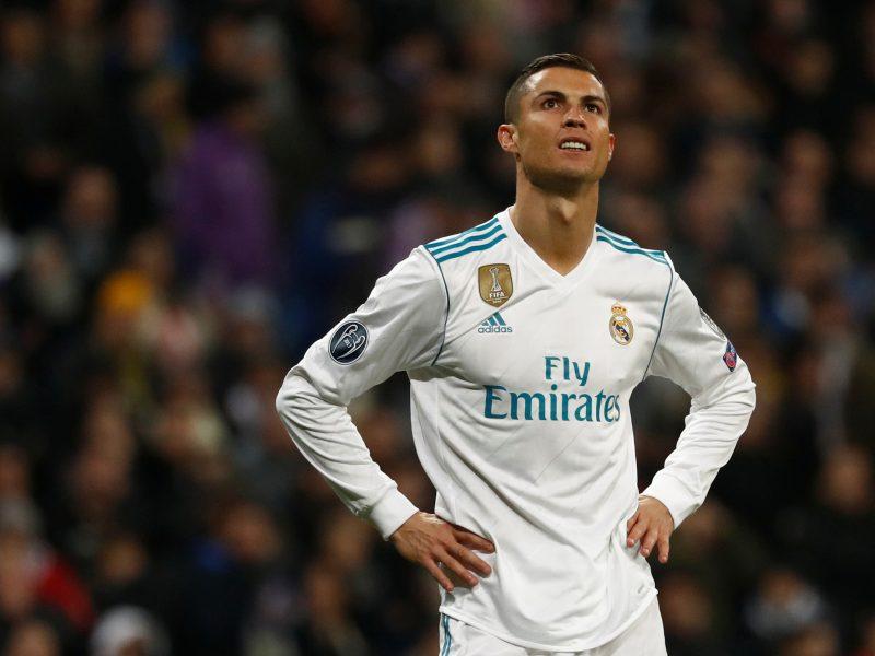 Geriausiu pasaulio futbolininku išrinktas C. Ronaldo