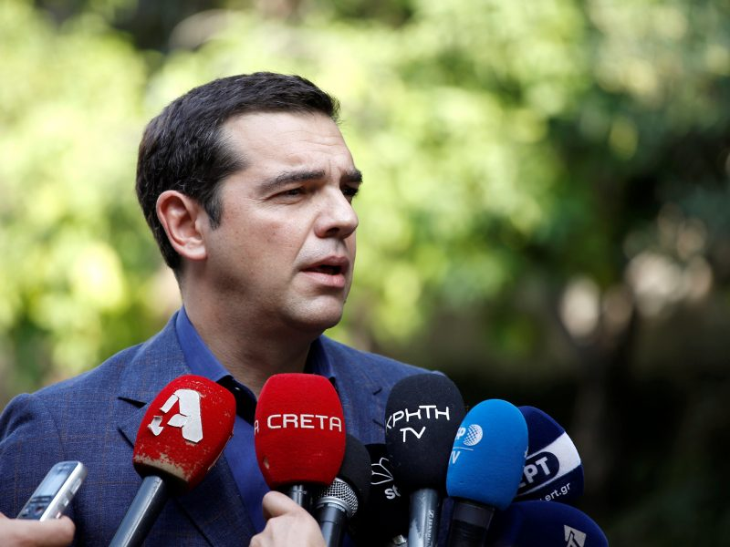 A. Tsipras ragina Makedoniją ratifikuoti susitarimą dėl šalies pavadinimo pakeitimo