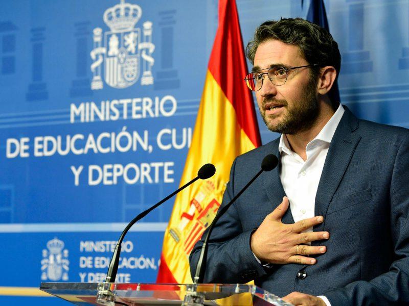 Ispanijos kultūros ir sporto ministras atsistatydina dėl mokesčių aferos