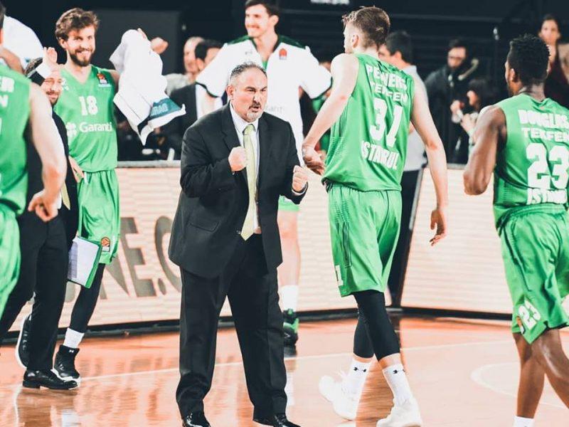 """""""Budučnost"""" krepšininkai išplėšė pergalę prieš """"Darussafaka"""" ekipą"""