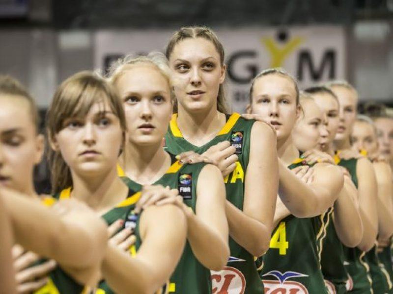 Lietuvos šešiolikmetės krepšininkės neprilygo prancūzėms