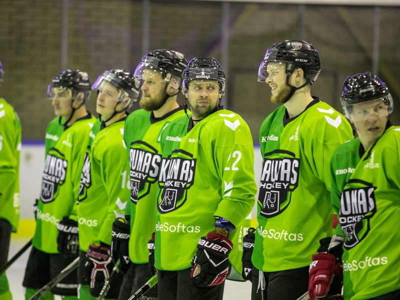 """""""Kaunas Hockey"""" ledo ritulininkai iškovojo pergalę Vilniuje"""