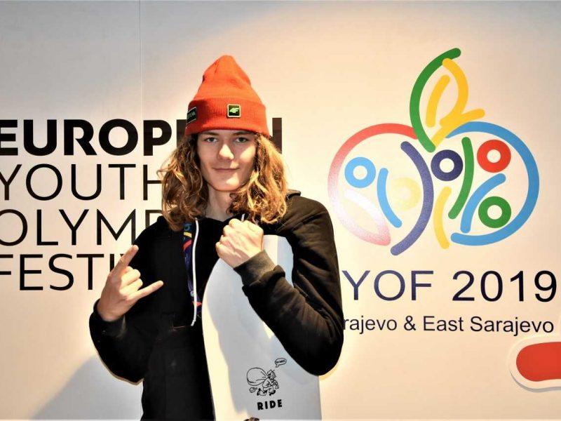 Snieglentininkas M. Morauskas Sarajeve nušoko tiesiai į finalą