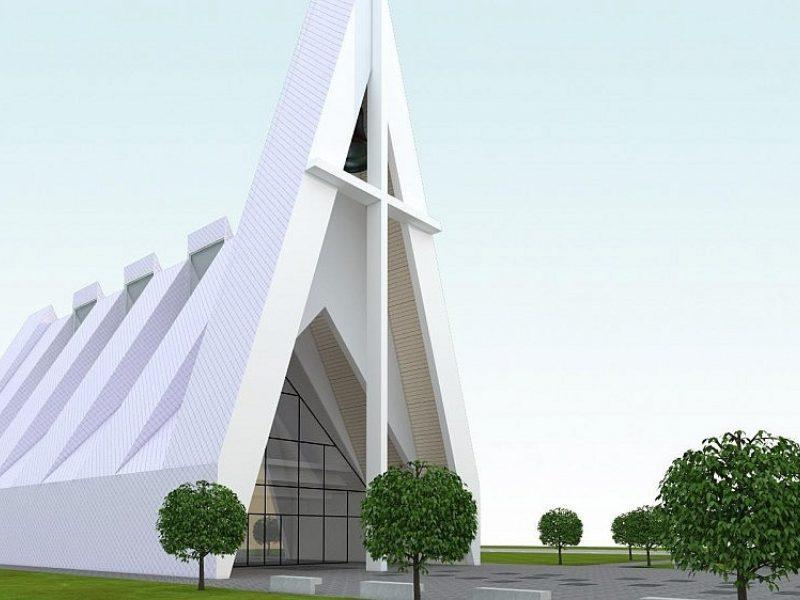 Kaune bus statoma nauja bažnyčia
