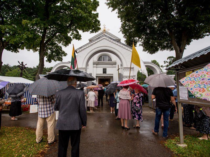 Šv. Roko atlaidai Švč. Mergelės Marijos bažnyčioje