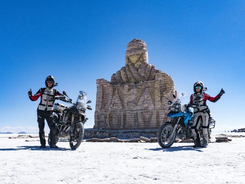 Įspūdinga lietuvių kelionė motociklais: per 640 dienų aplankė 45 šalis