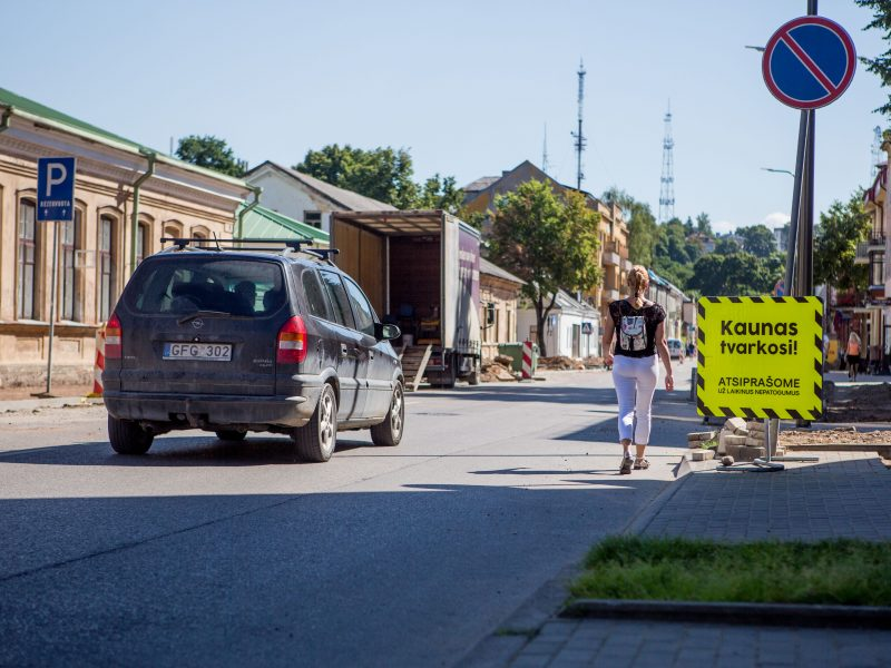 Kauniečiai protestuos dėl vištų ir medžių