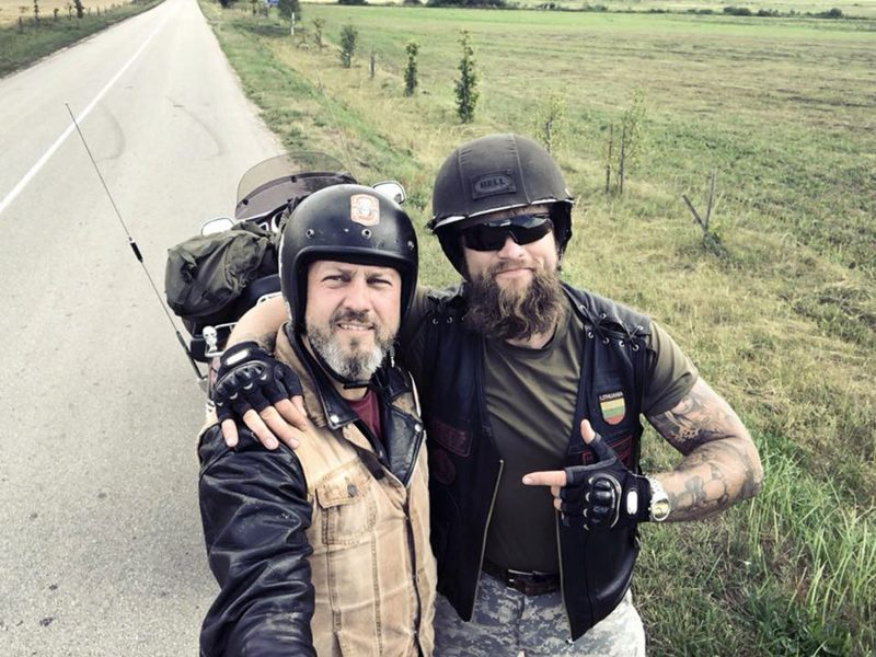Žygio motociklais avantiūra: klaipėdietis kartos legendinį maršrutą