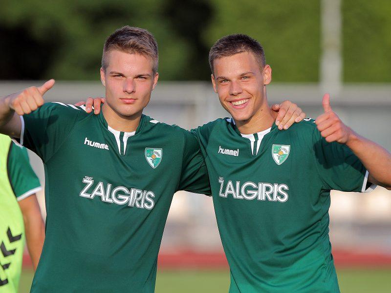 """A lyga: """"Kauno Žalgiris"""" – Vilniaus """"Žalgiris"""" 1:1"""