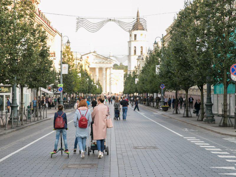 Gedimino prospekte eismas bus draudžiamas ir darbo dienomis