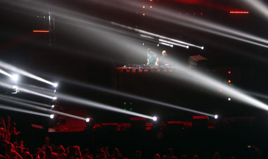 """""""Žalgirio"""" arena virto šokių aikštele"""