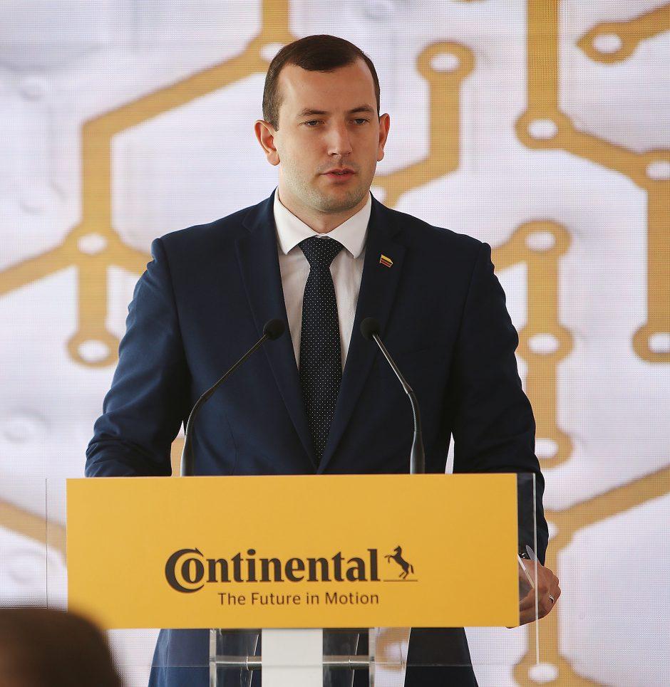 """""""Continental"""" pradeda gamyklos statybas Kauno rajone"""