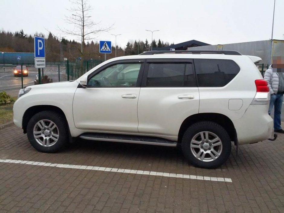 Pasieniečiams įkliuvo Latvijoje vogti automobiliai