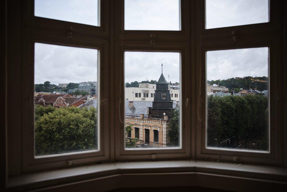 Užsienio ir Lietuvos studentų akiratyje – istoriniai Kauno kvartalai