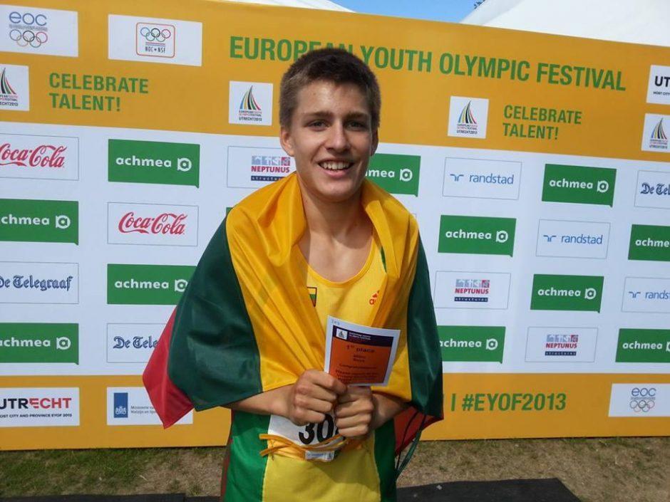 Kaip Europos jaunimo olimpiniame festivalyje maitinosi medalius pelnę lietuviai?