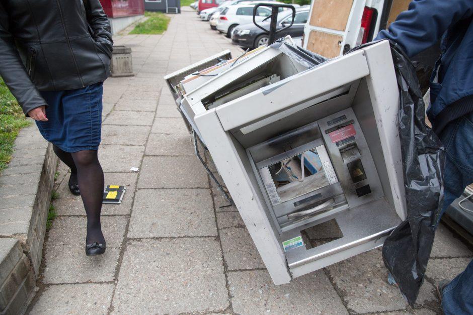 Petrašiūnuose susprogdinti bankomatai