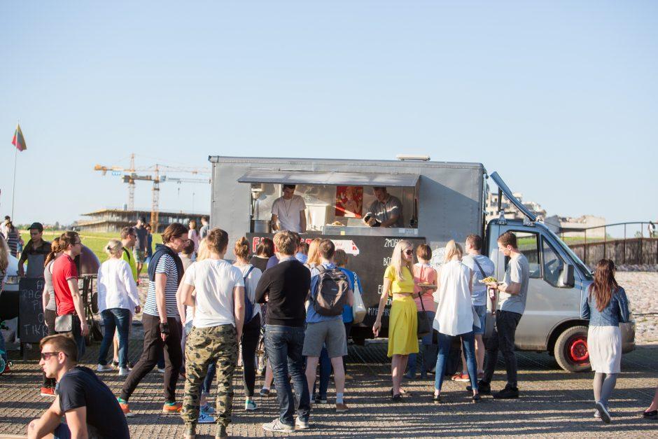 """Open kitchen"" sezono atidarymas Nemuno saloje"