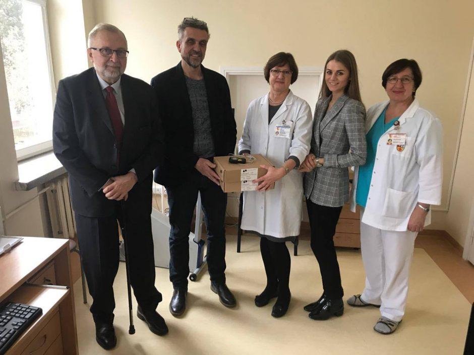 Kauno vaikų ligų klinikai – reikšminga dovana