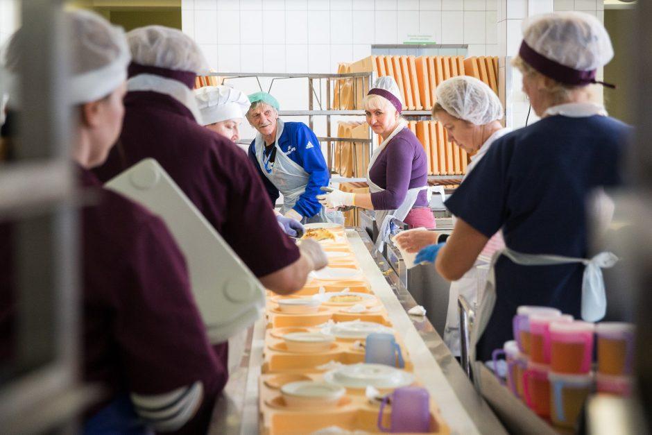 A. Verygos inicijuotas reidas ligoninėje: kokį maistą rado?