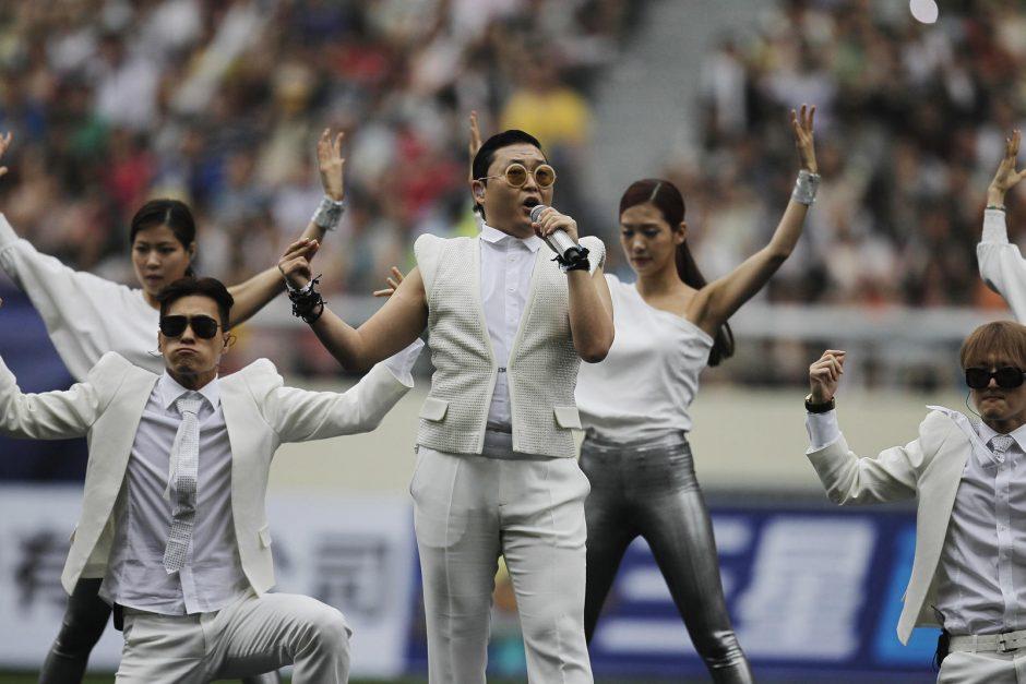 Reperis Psy naują albumą  planuoja rugsėjį