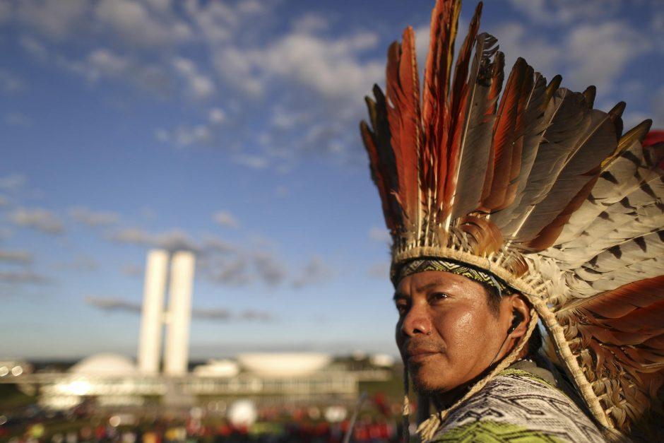 Brazilijos čiabuviai kovoja už vienintelio kultūros centro išlikimą