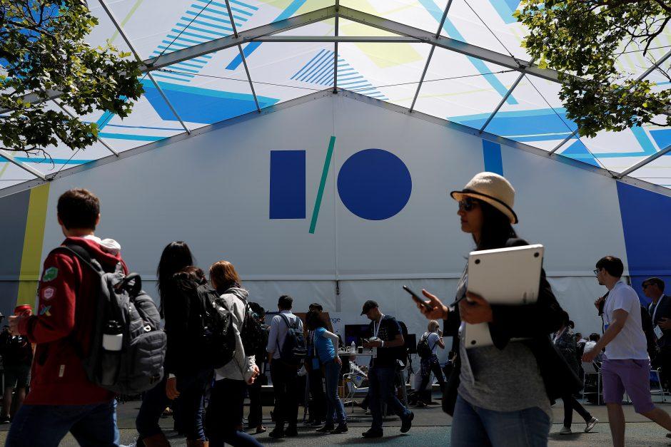 """Kalifornijoje per """"Google"""" konferenciją kilus gaisrui sužeisti trys žmonės"""