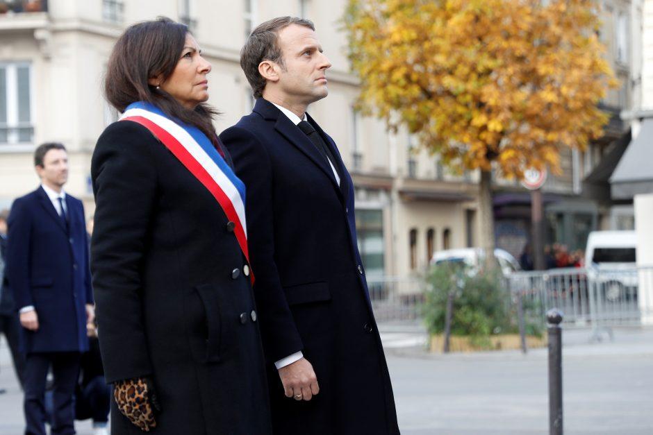 Minimos antrosios teroro išpuolių Prancūzijoje metinės