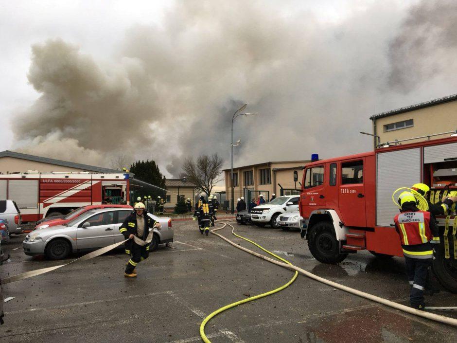 Austrijos pagrindiniame dujotiekių mazge įvyko sprogimas, yra aukų