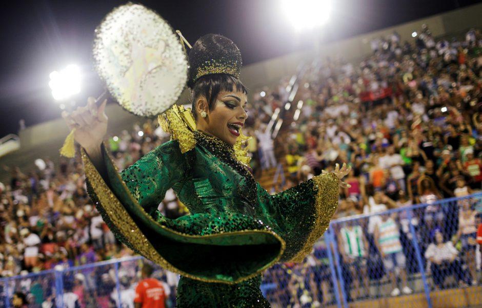 Spalvingasis Rio de Žaneiro karnavalas