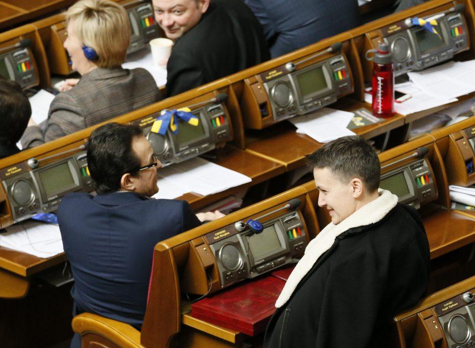 Ukrainoje sulaikyta N. Savčenko
